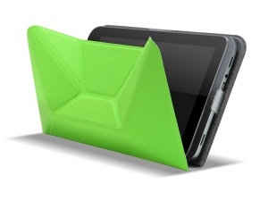 Acer W4 with origami cover